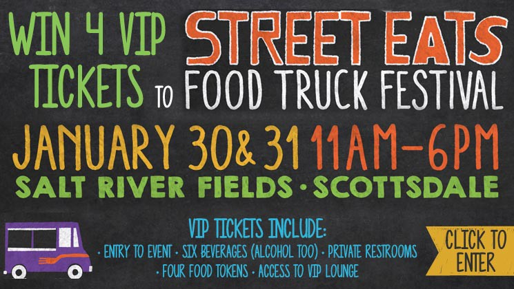 Scottsdale, AZ: 4 VIP Tickets to the Street Eats Food Truck Festival