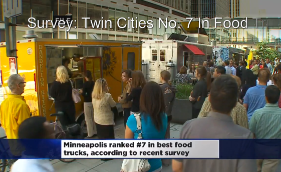 Minneapolis, MN: Survey Rates Minneapolis Among Top 10 Best For Food Trucks