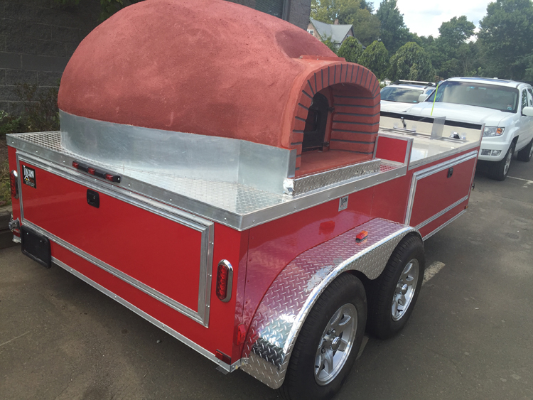Pittsburgh, PA: Il Pizzaiolo's mobile brick oven will soon join Pittsburgh food trucks