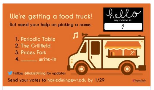 Blacksburg, VA: Two Virginia Tech food trucks prepare for next fall