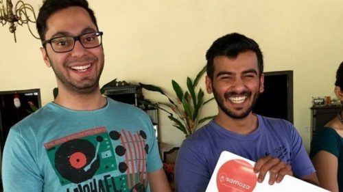 Armaan Kapoor and Rohit Gehe, founders of Samoza