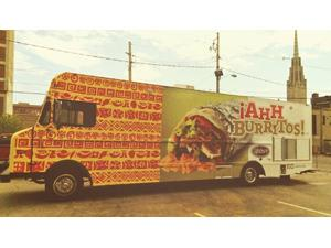 Indianapolis, IN: Ricker's Rolls With ¡AhhBurritos! Food Truck