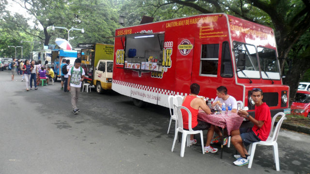 Manila, PHI: Why are there food trucks in UP Diliman?