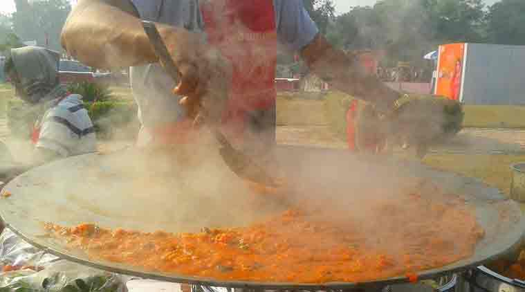 New Delhi, IND: Sample delicious street food from across India at the National Street Food Festival