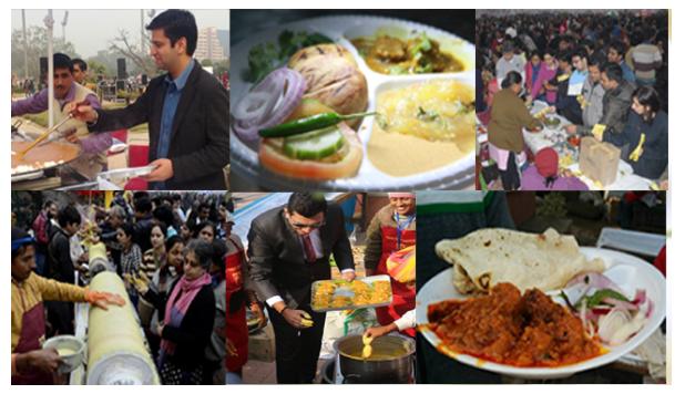 New Delhi, IND: Kashmiri street food tickles taste buds at Delhi fest