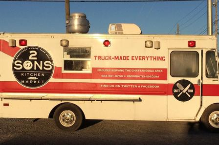 Flynt has rebranded his truck to use in conjunction with the new restaurant.  (Photo: Contributed)