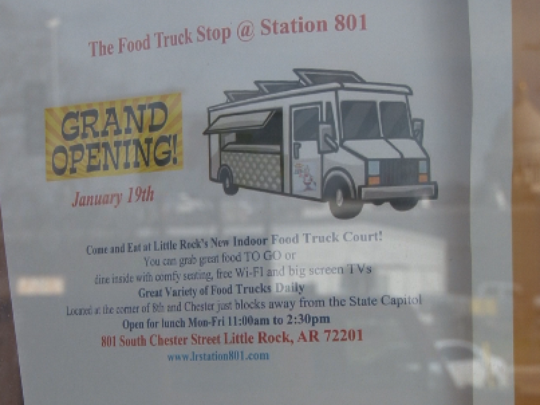 Little Rock, AR: Indoor food truck court coming to downtown LR