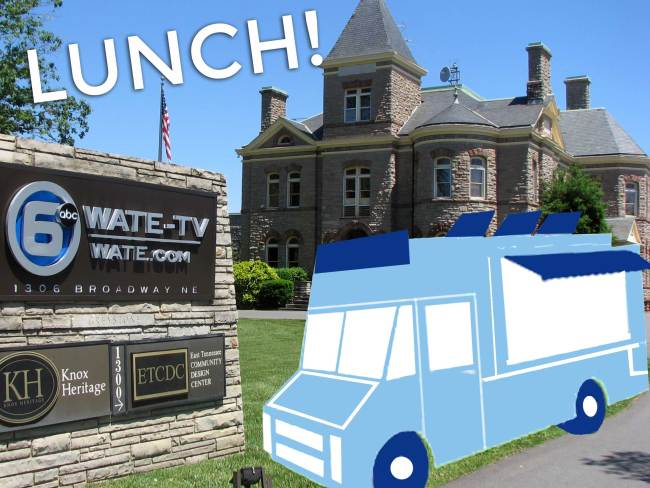 Knoxville, TN: Knoxville food trucks park at WATE 6 On Your