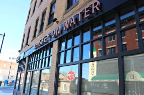on Worcester's Water Street 10 / 11 Outside Whiskey on Water.