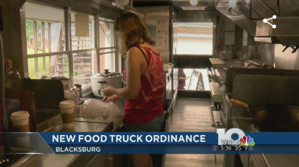 Blacksburg, VA: Blacksburg food truck ordinance passes