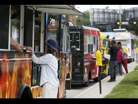 Des Moines, IA: Food trucks head to D.M. parks, neighborhoods