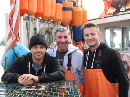 Cousins Maine Lobster co-founder Sabin Lomac, Nashville  franchisee Craig Betts and Cousins Maine  Lobster co-founder Jim Tselikis (Photo: Submitted)