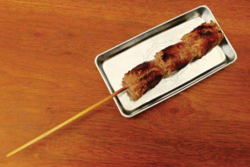 The Thai sour sausage is delicious.  Daniel Nass