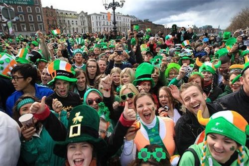 St Patrick's celebrations in Birmingham