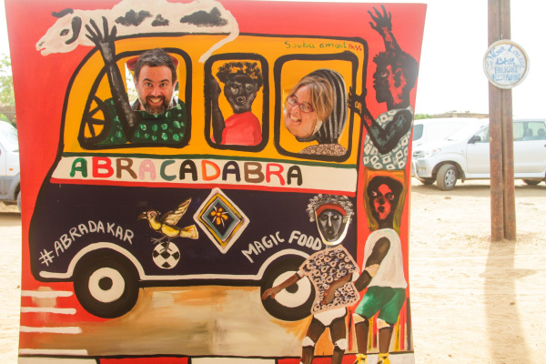 Dakar, SEN: The Abracadabra Food Truck needs our help!