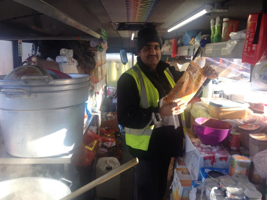 National News: It's not a food truck. It's a mobile kitchen feeding refugees around Europe.