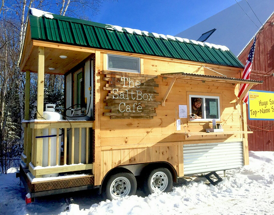 Newry, ME: SaltBox Cafe – Tiny house food truck