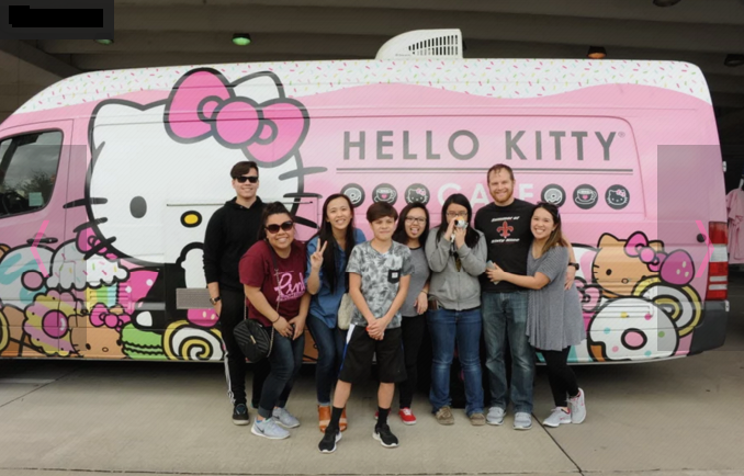 Plano, TX: You won't believe the long line at the Hello Kitty food truck in Plano