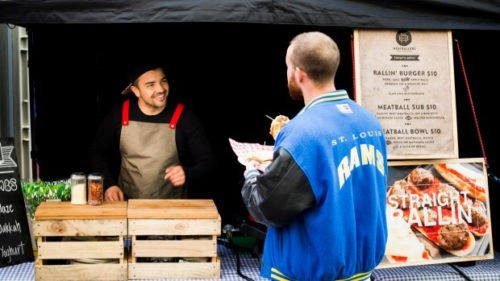 AARTEN HOLL/FAIRFAX NZ Meatballers co-owners Hunter (pictured) and Ashten Macdonald said It was  more difficult to get into  the food  truck business than they thought.