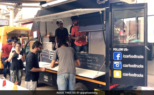 Mumbai, IND:  'Food Truck Festival' Brings Mumbai Street Food On Wheels