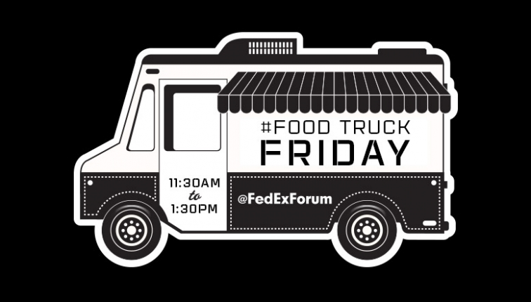 "Memphis, TN: ""Food Truck Fridays at FedExForum"" slated to return every Friday in June"