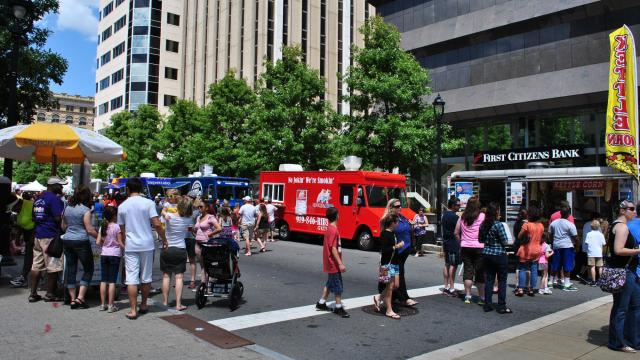 Raleigh, NC: Downtown Raleigh Food Truck Rodeo planned Sunday