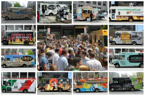 This is just a sample of the many food trucks around Cleveland. Help us find the best ones.