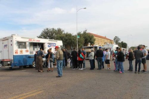 Hundreds of residents sampled a variety  of food during the Lubbock Food Truck Festival last year.
