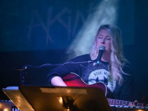 Local musician Shaley Scott will perform at Tuesday's  Food Truck Rally at City Park, the first of the  season. She's also booked to perform at the  weekly summer event on July 26.  (Photo: Coloradoan file photo)