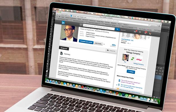 criar uma página no linkedin