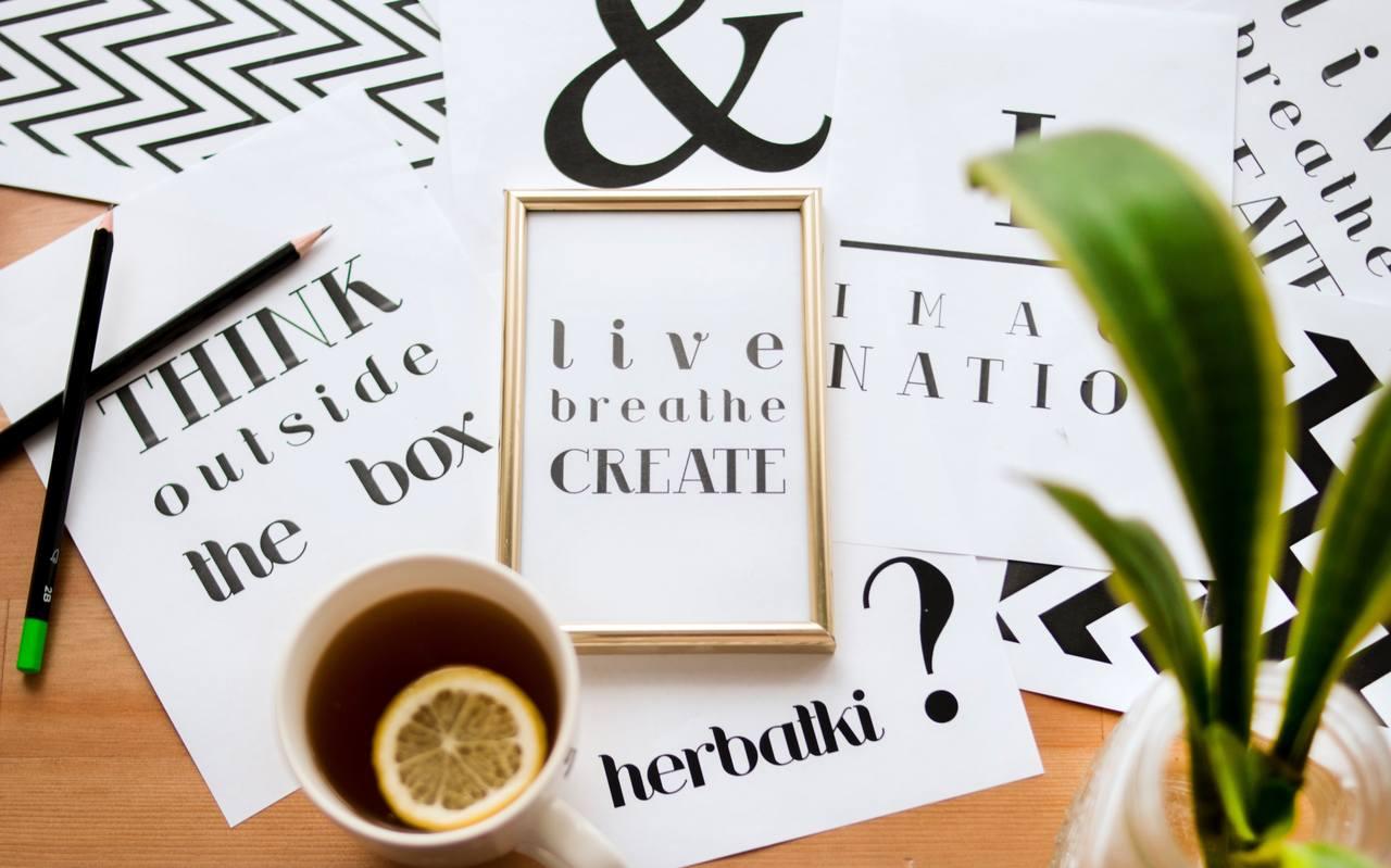 Saiba o que é tipografia!