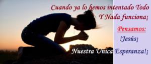 La oración perseverante trae esperanza