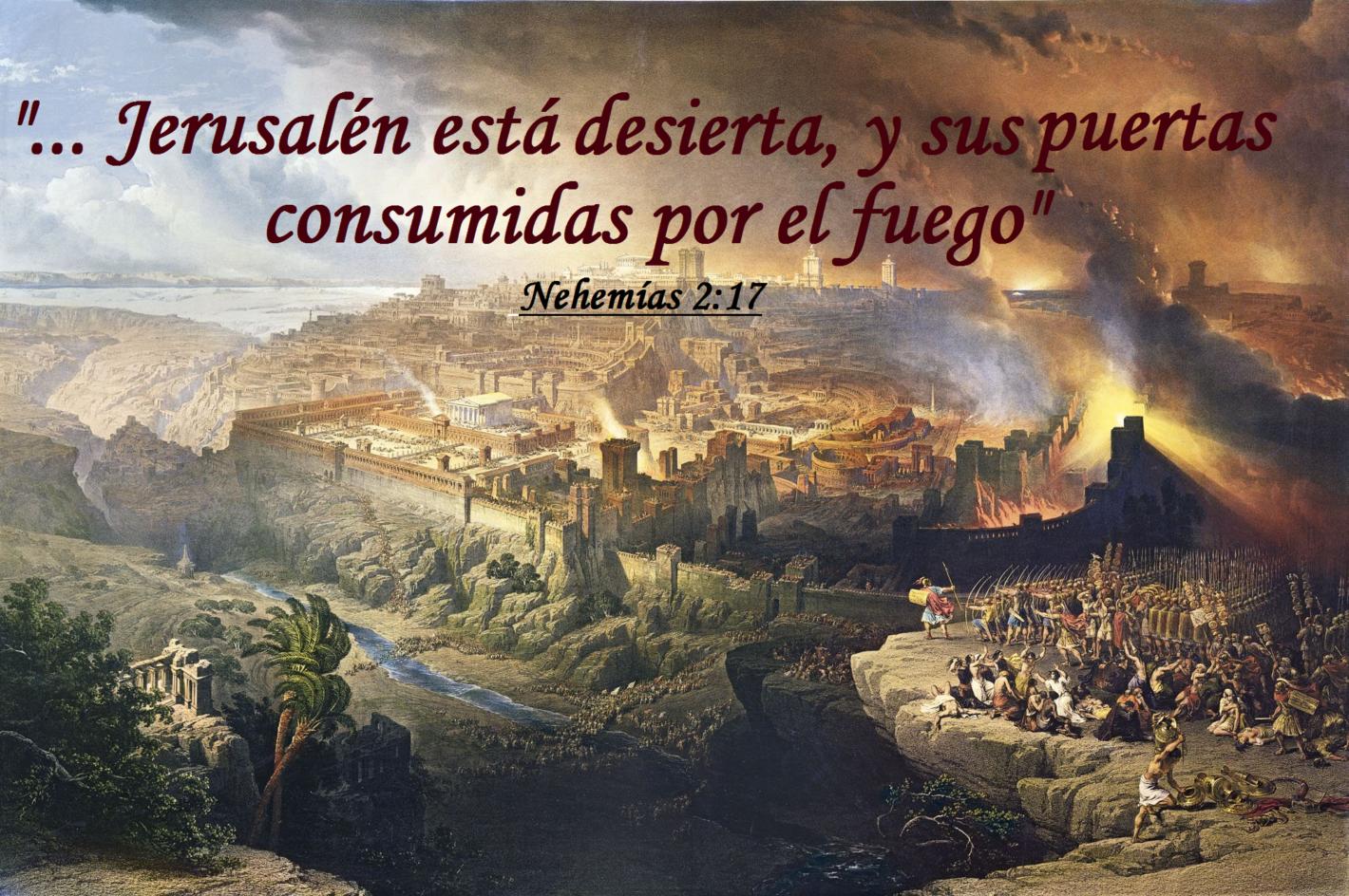 La destrucción trae oprobio al corazón