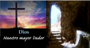 Dar para la obra de Dios porque Él nos da ejemplo
