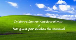 Solo el corazón nuevo encuentra descanso en verdes pastos