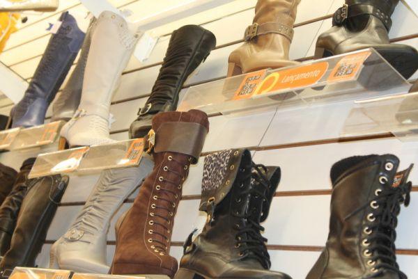 Calçados estão entre os presentes mais lembrados pelos consumidores. Foto: Marcelo Matusiak