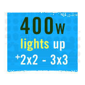 400 WATT GROW LIGHTS