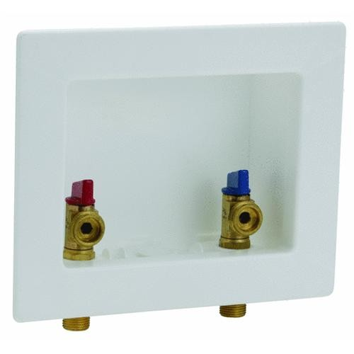 Danco Perfect Match 2-Valve Center Outlet Washing Machine Box