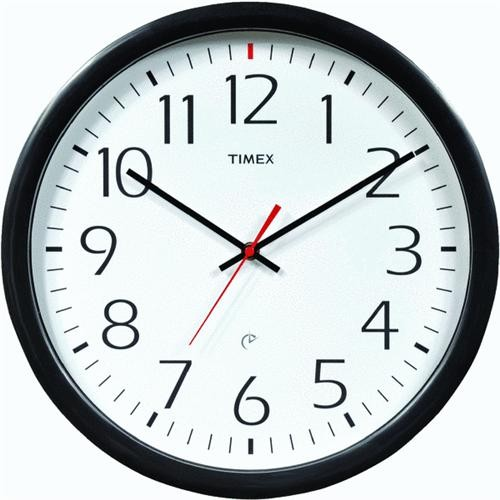 Chaney Instrument Timex Set & Forget Office Wall Clock