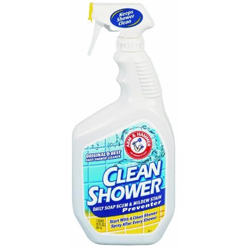Church & Dwight Co Clean Shower Bathroom Shower Cleaner