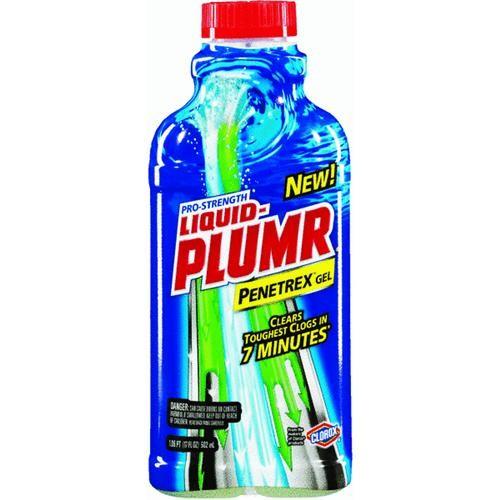 Clorox/Home Cleaning Liquid-Plumr 17 Fl Oz Penetrex Gel Liquid Drain Cleaner