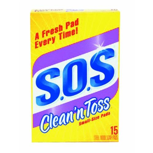Clorox/Home Cleaning Clean 'n Toss S.O.S Pads
