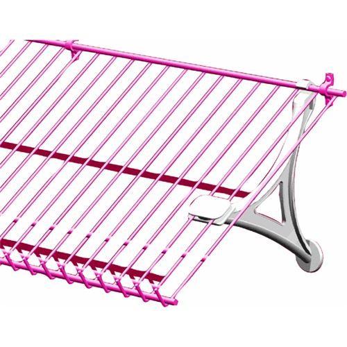 ClosetMaid White Wire Shelf Shoe Support Bracket