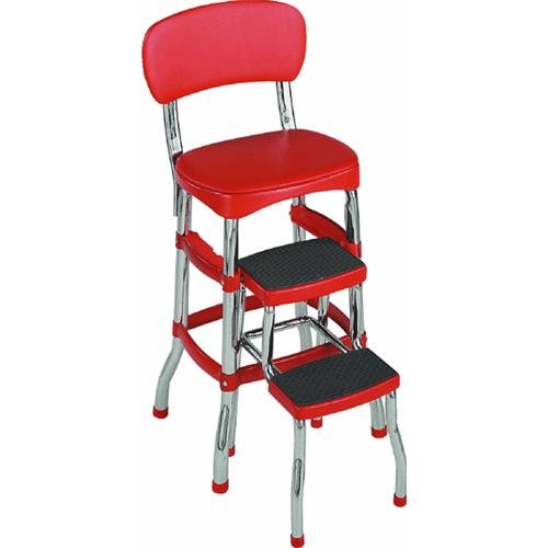 Cosco Home & Office Retro Step Stool Chair