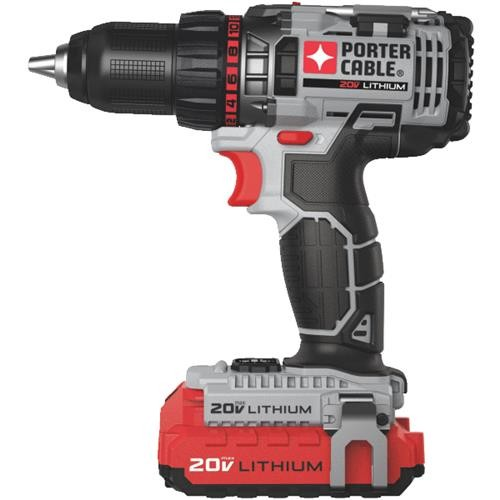 Black & Decker Porter Cable 20V MAX 2-Battery Lithium-Ion Cordless Drill Kit