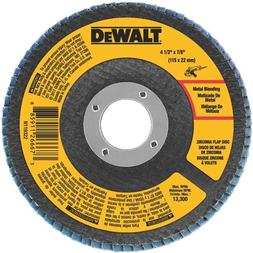 Black & Decker/DWLT DeWalt Type 29 Angle Grinder Flap Disc