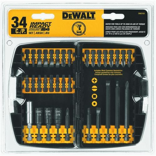 Black & Decker/DWLT DeWalt 40-Piece Impact Screwdriver Bit Set