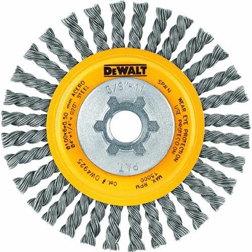 Black & Decker/DWLT DeWalt Twist Knot Angle Grinder Wire Wheel