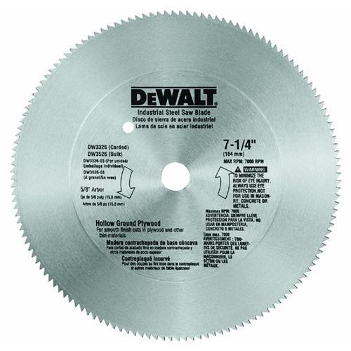 Black & Decker/DWLT Plywood Steel Saw Blade