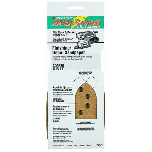 Black & Decker/DWLT Finishing Detail Mouse Sandpaper